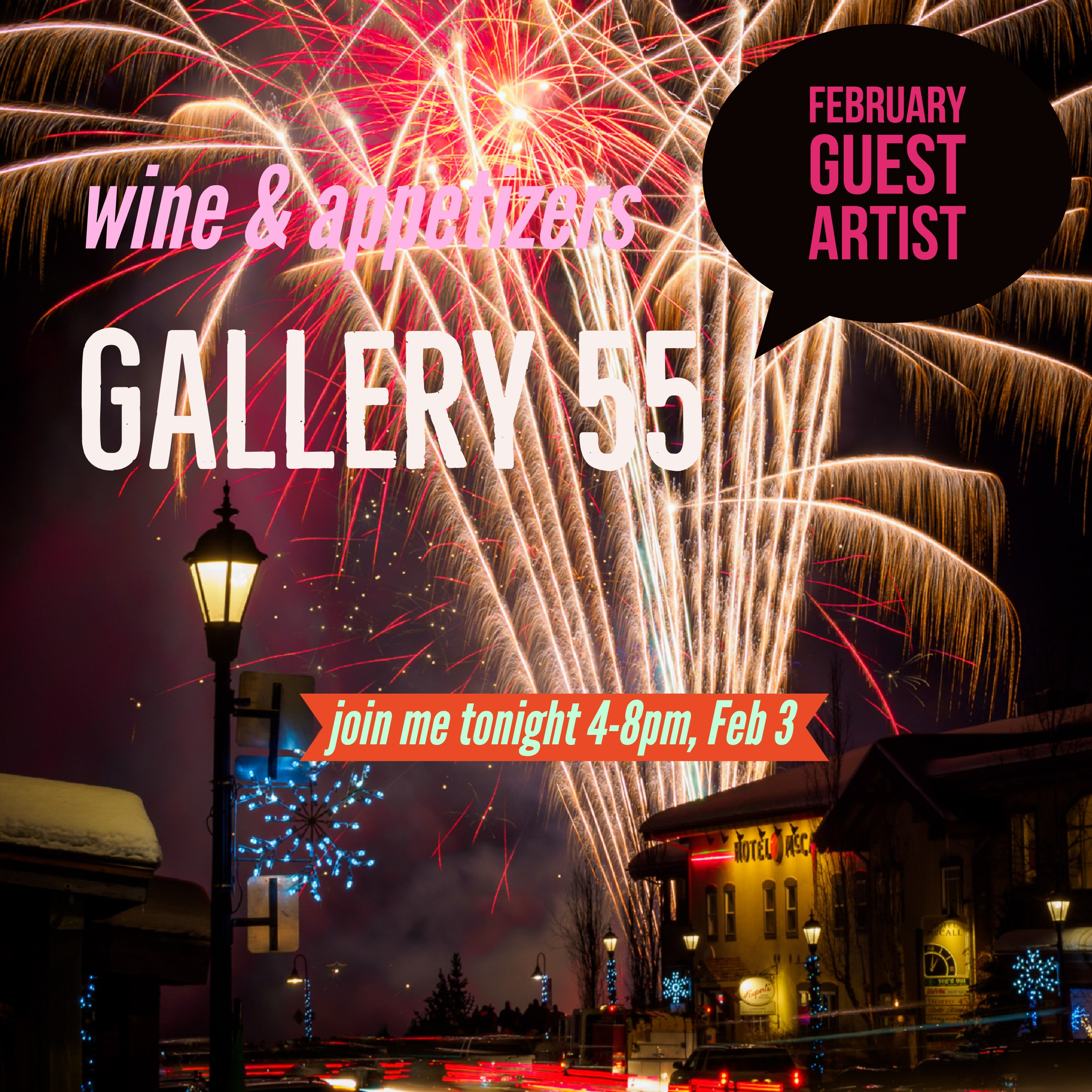 FEBRUARY GUEST ARTIST AT GALLERY 55