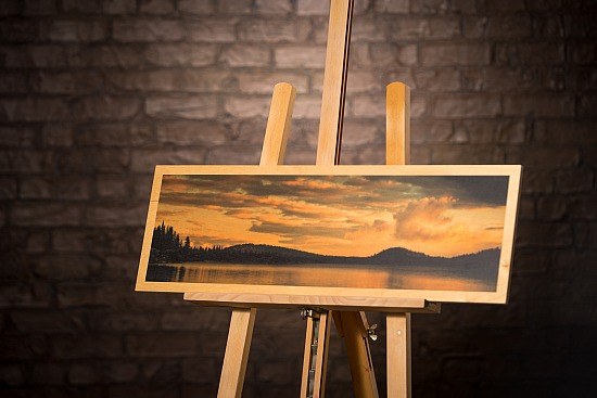 LOCH NESS RIDGE - WOOD  (15X30 IN)