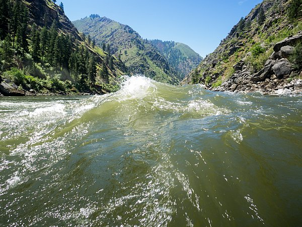 day trips from mccall rafting on the salmon out of riggins and the cabarton section of the payette river